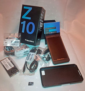 Blackberry Z10 (OEM) (Unlocked) (белый) Bluetooth гарнитур
